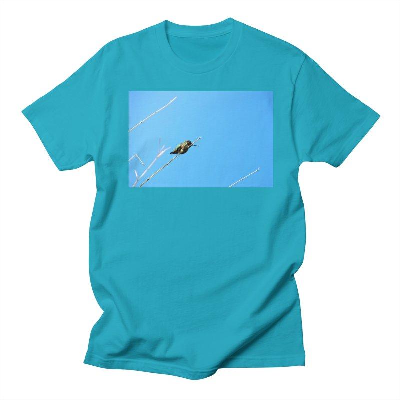Hummingbird Men's T-Shirt by Soulstone's Artist Shop