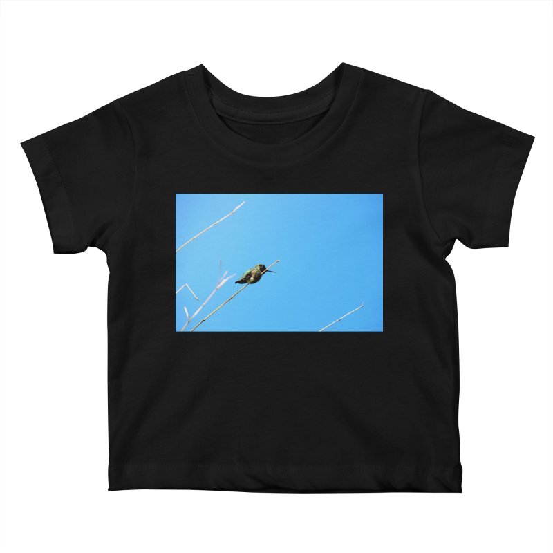 Hummingbird Kids Baby T-Shirt by Soulstone's Artist Shop