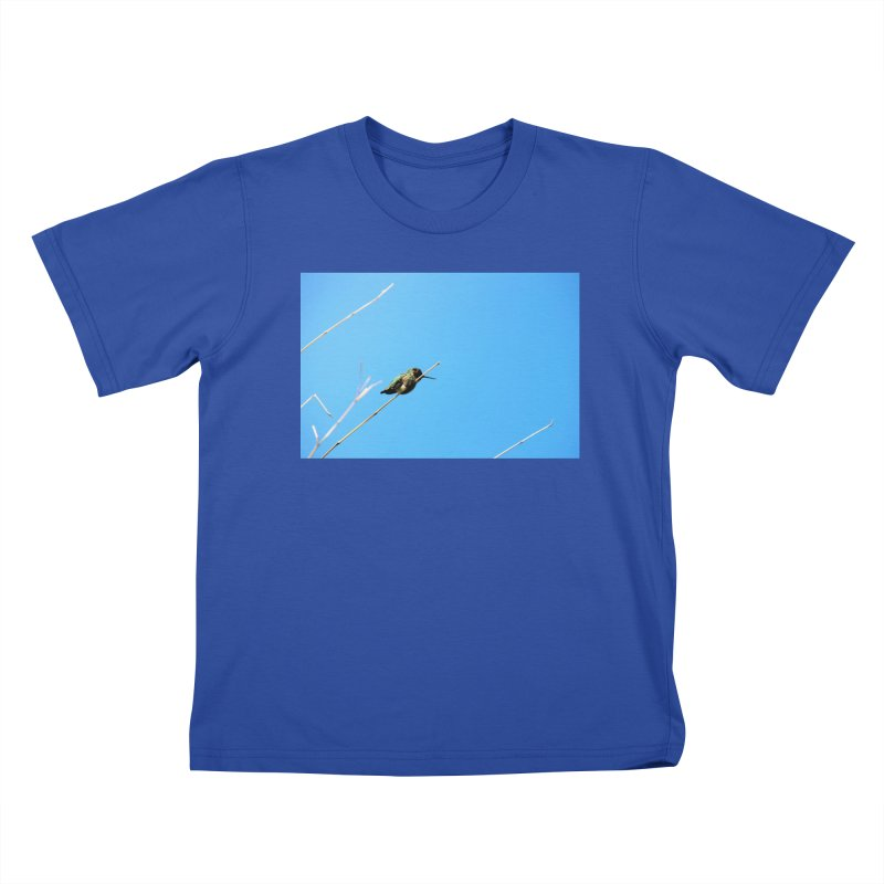 Hummingbird Kids T-shirt by Soulstone's Artist Shop