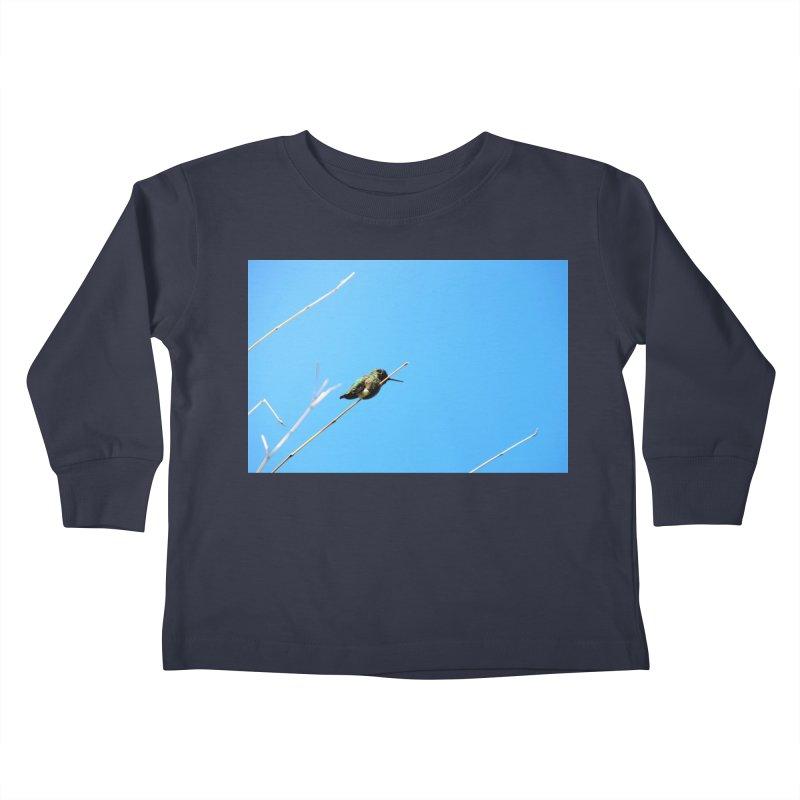 Hummingbird Kids Toddler Longsleeve T-Shirt by Soulstone's Artist Shop