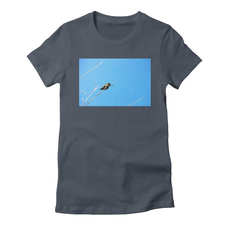 Hummingbird Women's Fitted T-Shirt by Soulstone's Artist Shop