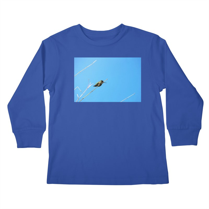Hummingbird Kids Longsleeve T-Shirt by Soulstone's Artist Shop