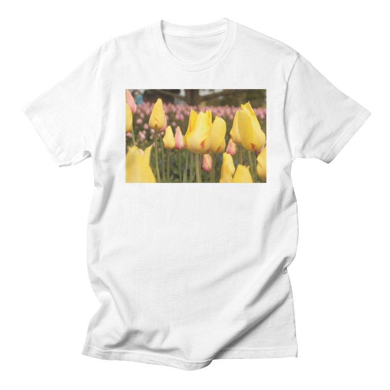 Yellow Tulips Women's Unisex T-Shirt by Soulstone's Artist Shop