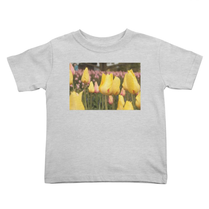 Yellow Tulips Kids Toddler T-Shirt by Soulstone's Artist Shop