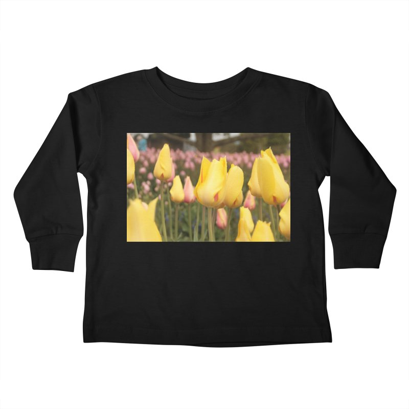 Yellow Tulips Kids Toddler Longsleeve T-Shirt by Soulstone's Artist Shop