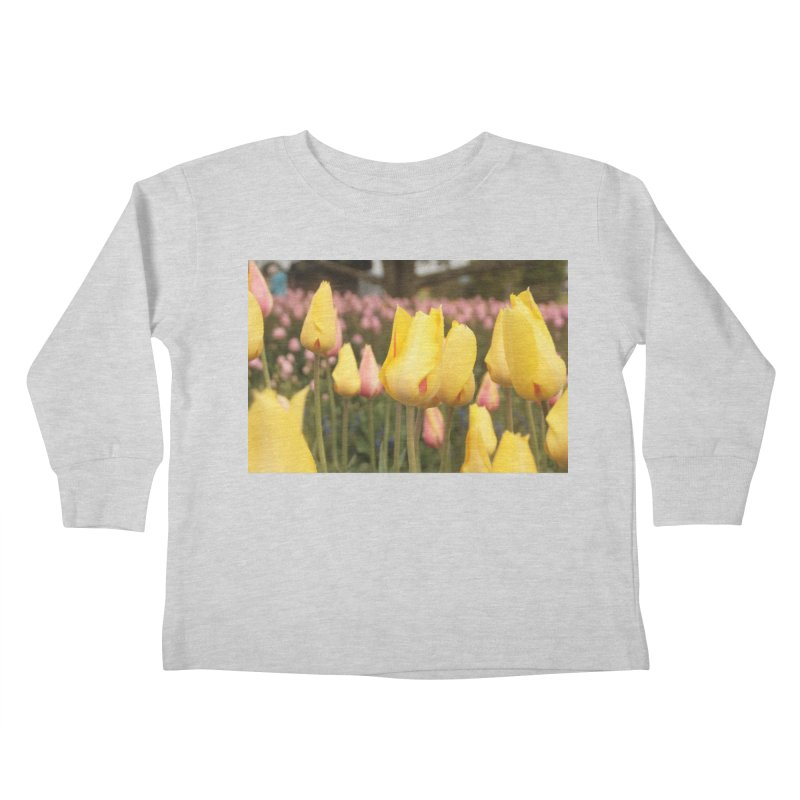 Yellow Tulips Kids Toddler Longsleeve T-Shirt by Soulstone's Artist Shop