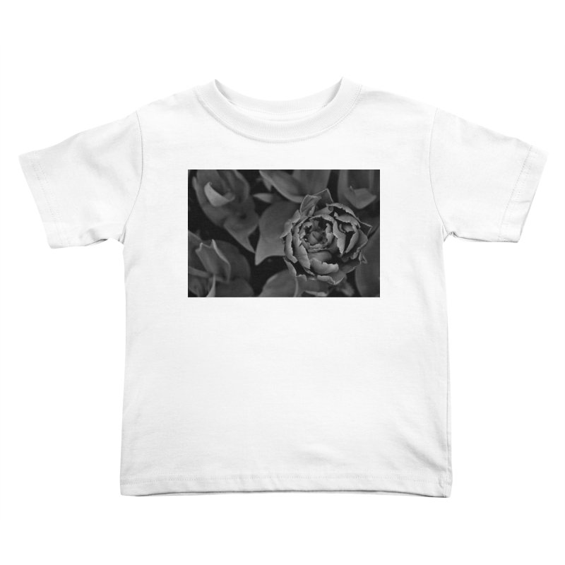 grayscale rose Kids Toddler T-Shirt by Soulstone's Artist Shop