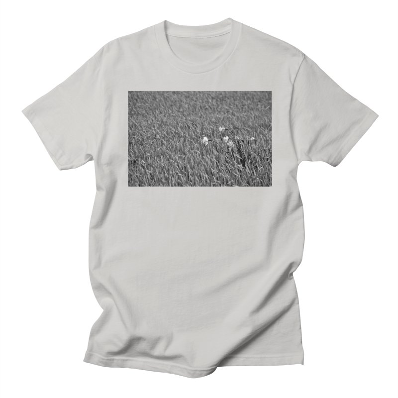 Grayscale field Men's T-Shirt by Soulstone's Artist Shop