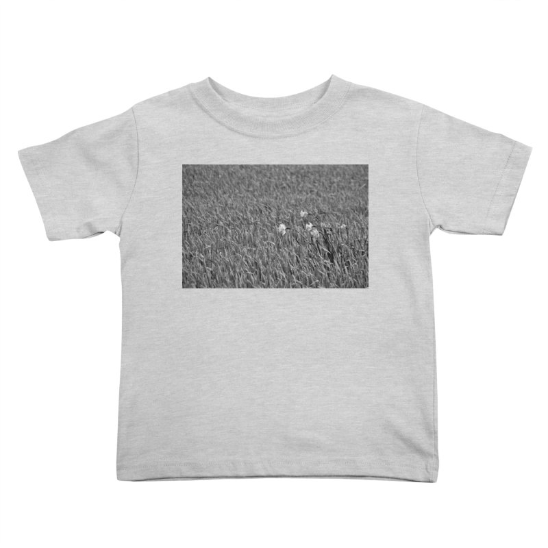 Grayscale field Kids Toddler T-Shirt by Soulstone's Artist Shop