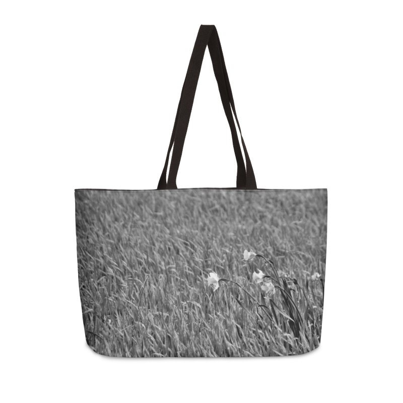 Grayscale field Accessories Bag by Soulstone's Artist Shop