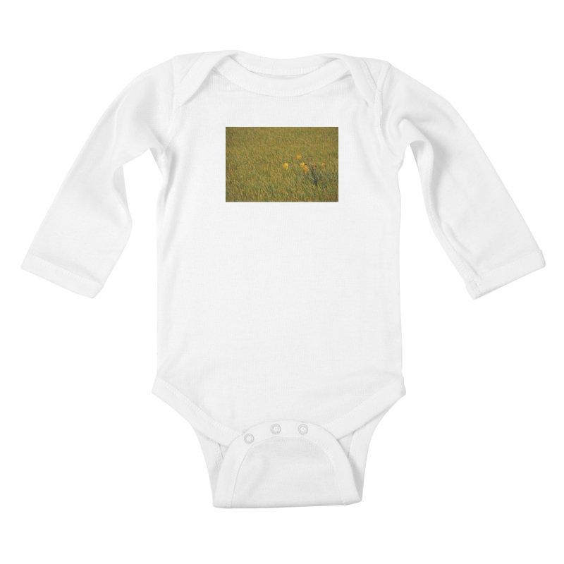 Field Kids Baby Longsleeve Bodysuit by Soulstone's Artist Shop