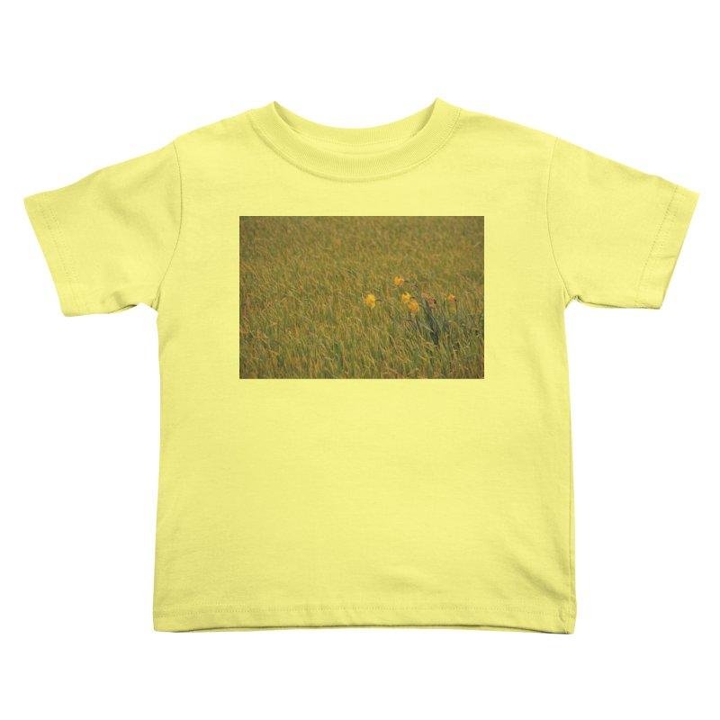 Field Kids Toddler T-Shirt by Soulstone's Artist Shop