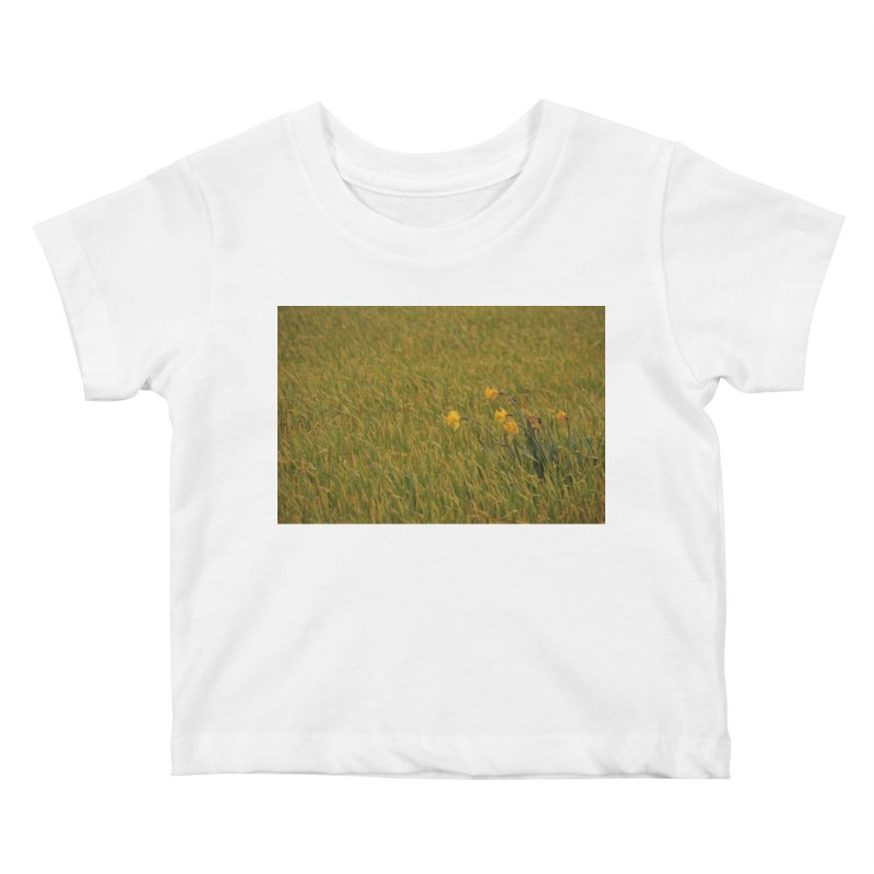 Field Kids Baby T-Shirt by Soulstone's Artist Shop
