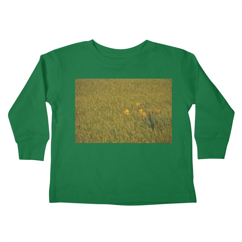 Field Kids Toddler Longsleeve T-Shirt by Soulstone's Artist Shop