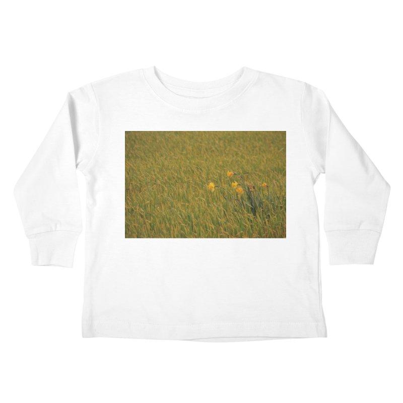 Field Kids Toddler Longsleeve T-Shirt by Soulstone's Artist Shop