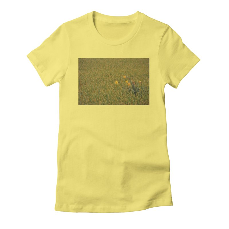 Field Women's Fitted T-Shirt by Soulstone's Artist Shop