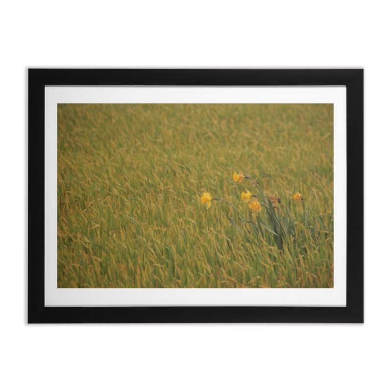 Field Home Framed Fine Art Print by Soulstone's Artist Shop