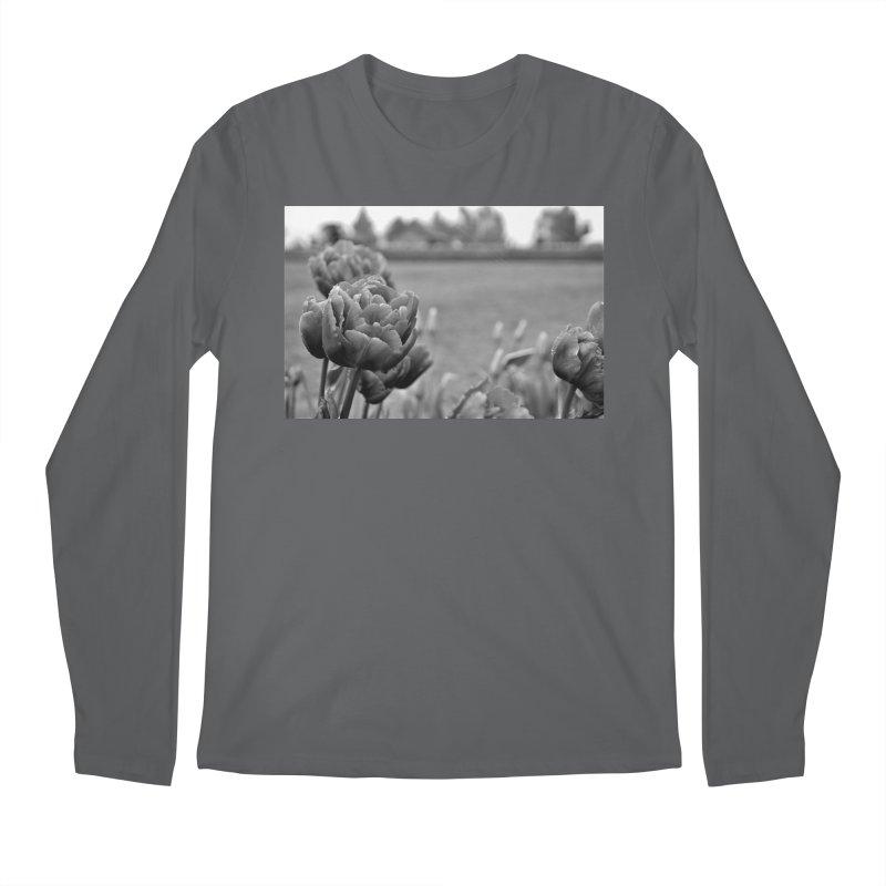 Pink grayscale Men's Longsleeve T-Shirt by Soulstone's Artist Shop