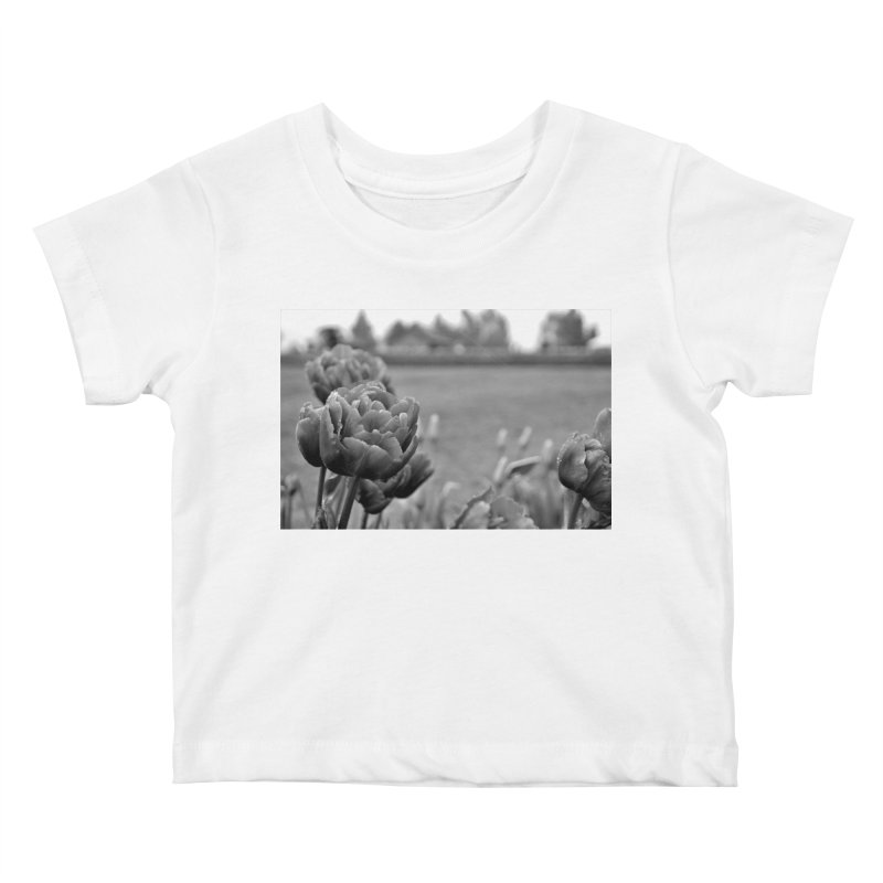 Pink grayscale Kids Baby T-Shirt by Soulstone's Artist Shop