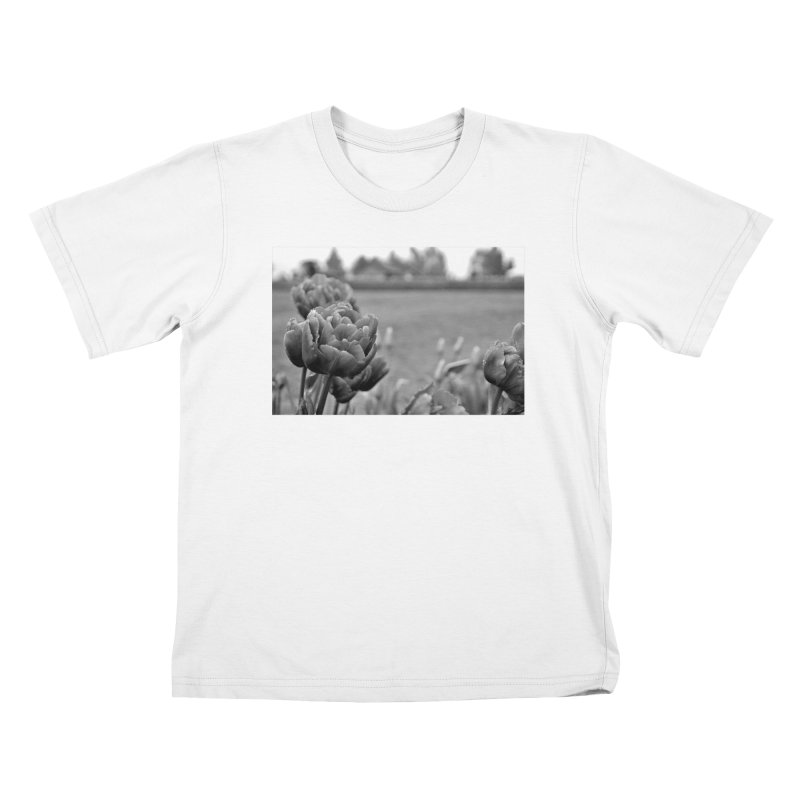 Pink grayscale Kids T-Shirt by Soulstone's Artist Shop