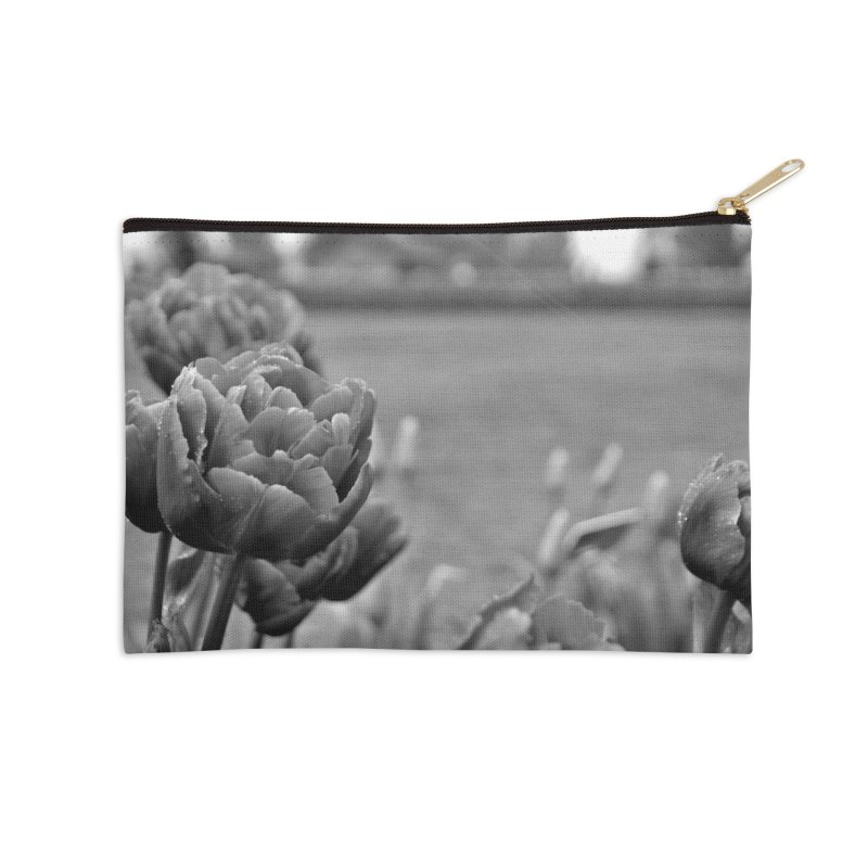 Pink grayscale Accessories Zip Pouch by Soulstone's Artist Shop