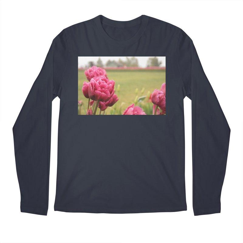 Pink petaled Men's Longsleeve T-Shirt by Soulstone's Artist Shop