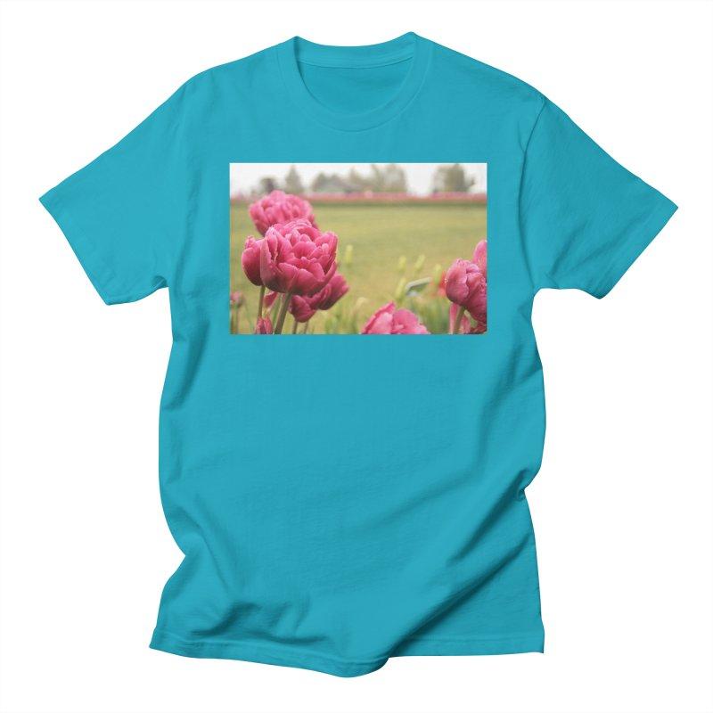 Pink petaled Women's Unisex T-Shirt by Soulstone's Artist Shop