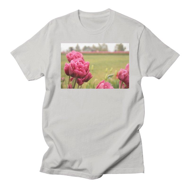 Pink petaled Men's T-Shirt by Soulstone's Artist Shop