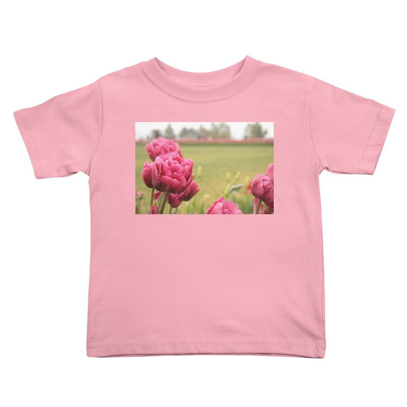 Pink petaled Kids Toddler T-Shirt by Soulstone's Artist Shop