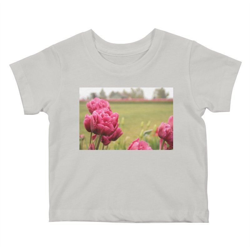 Pink petaled Kids Baby T-Shirt by Soulstone's Artist Shop