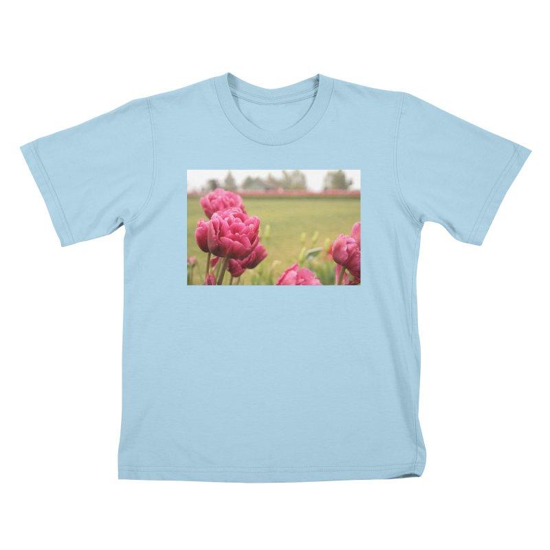 Pink petaled Kids T-Shirt by Soulstone's Artist Shop