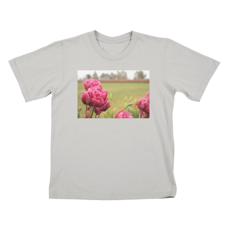 Pink petaled Kids T-shirt by Soulstone's Artist Shop