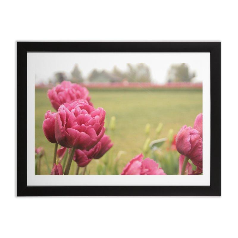 Pink petaled Home Framed Fine Art Print by Soulstone's Artist Shop