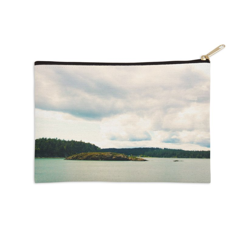 Border Waterscape Accessories Zip Pouch by Soulstone's Artist Shop