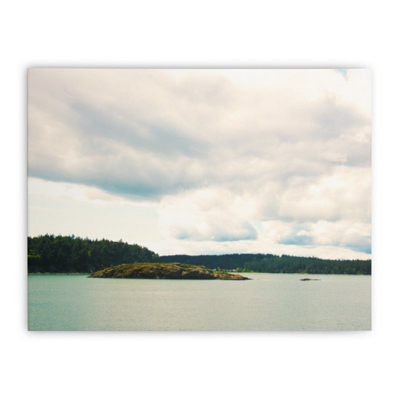 Border Waterscape Home Stretched Canvas by Soulstone's Artist Shop