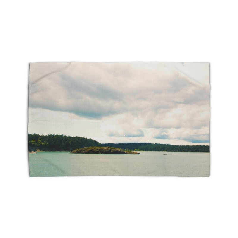 Border Waterscape Home Rug by Soulstone's Artist Shop