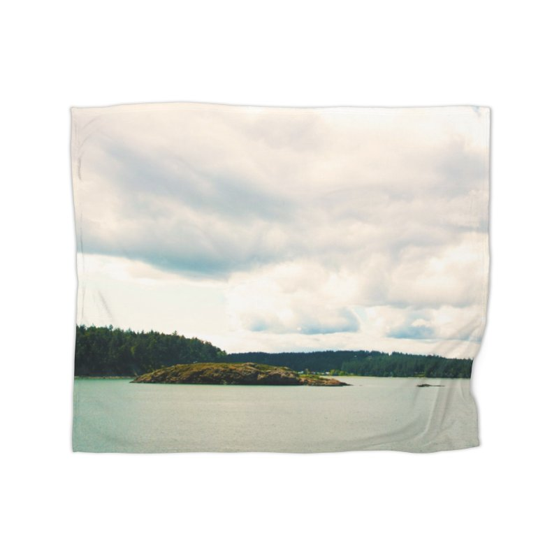 Border Waterscape Home Blanket by Soulstone's Artist Shop