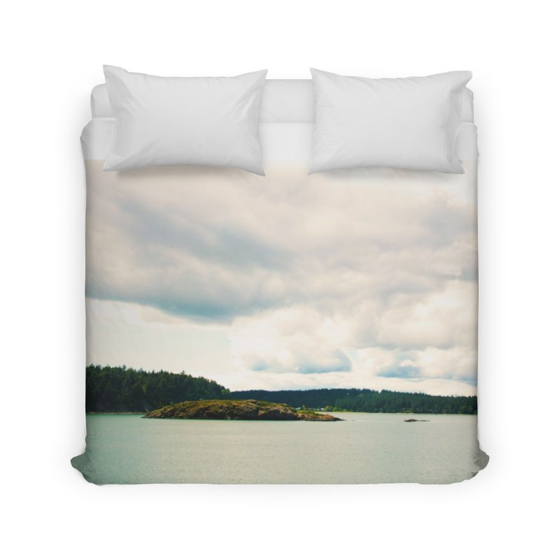 Border Waterscape Home Duvet by Soulstone's Artist Shop