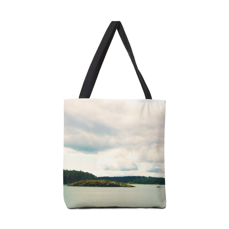 Border Waterscape Accessories Bag by Soulstone's Artist Shop