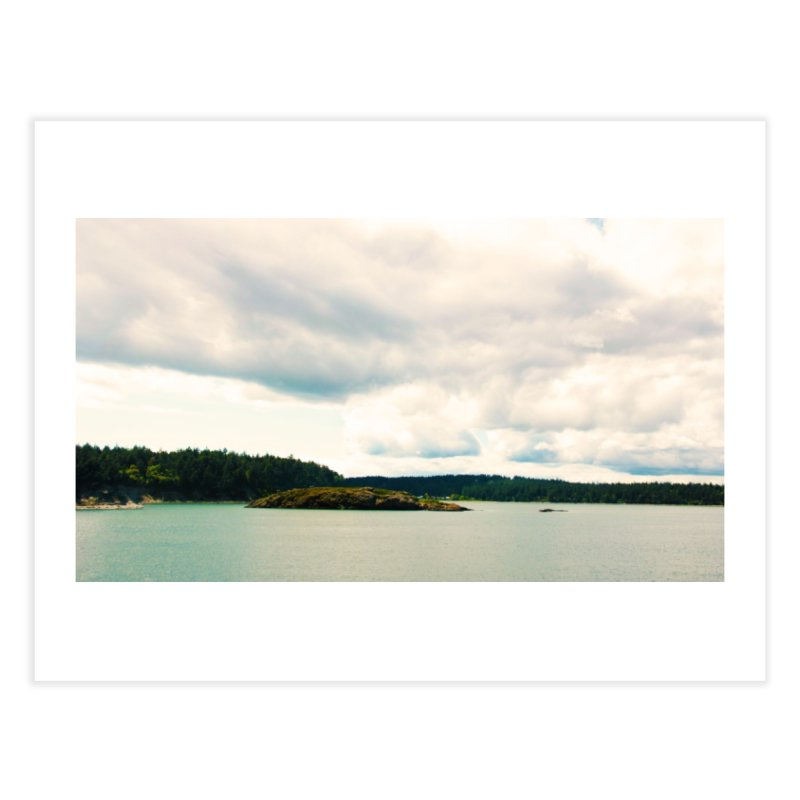 Border Waterscape Home Fine Art Print by Soulstone's Artist Shop