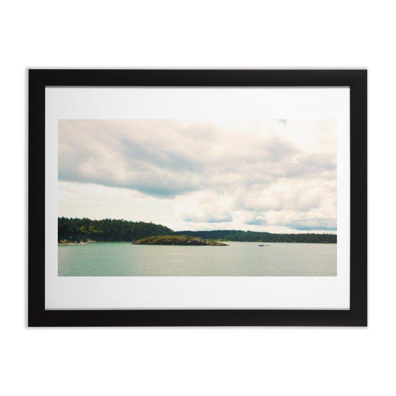 Border Waterscape Home Framed Fine Art Print by Soulstone's Artist Shop