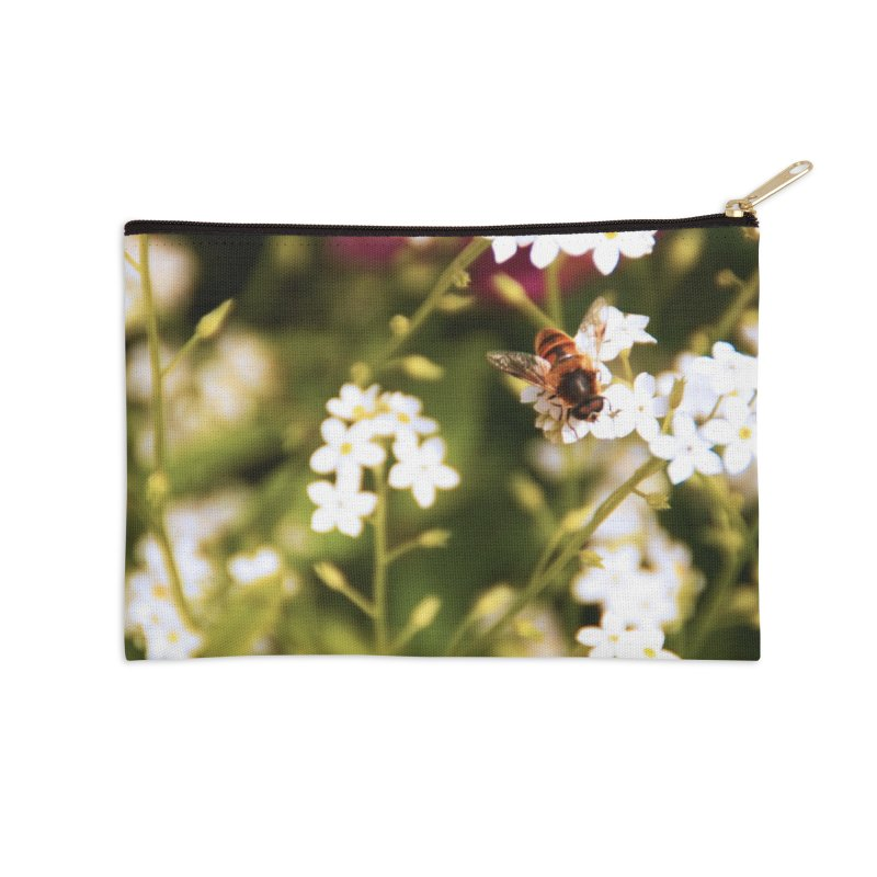 Busy Bee Accessories Zip Pouch by Soulstone's Artist Shop