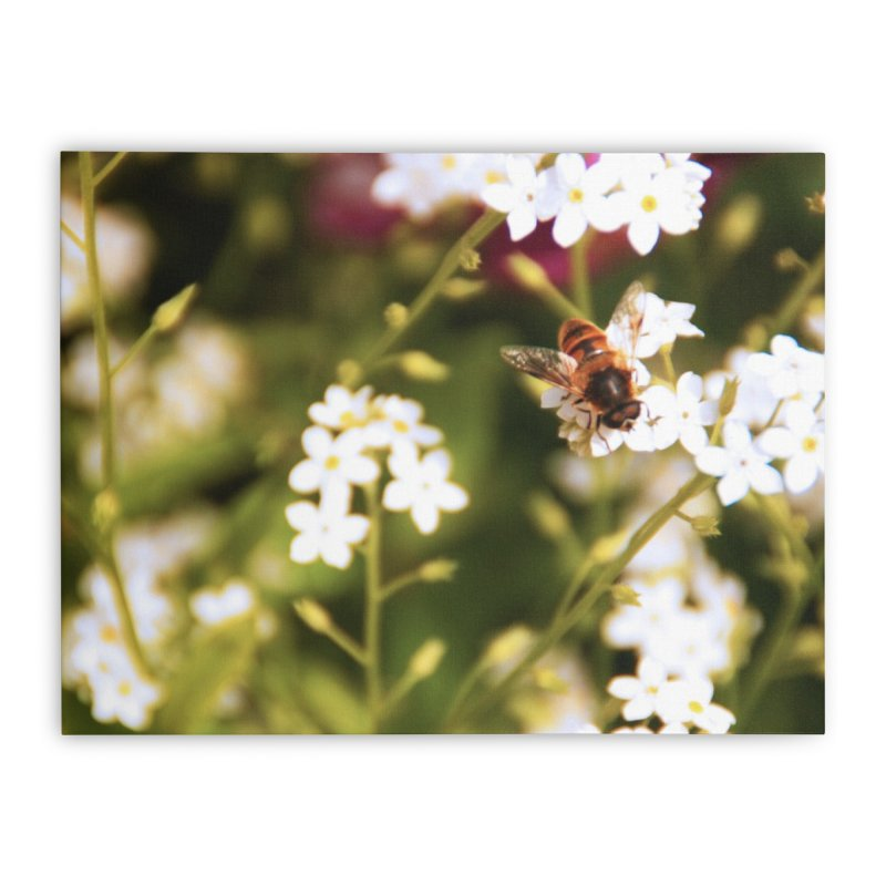 Busy Bee Home Stretched Canvas by Soulstone's Artist Shop