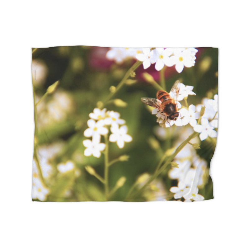 Busy Bee Home Blanket by Soulstone's Artist Shop