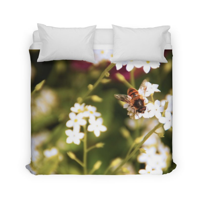 Busy Bee Home Duvet by Soulstone's Artist Shop