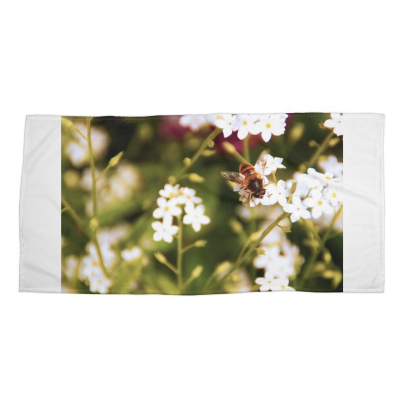 Busy Bee Accessories Beach Towel by Soulstone's Artist Shop