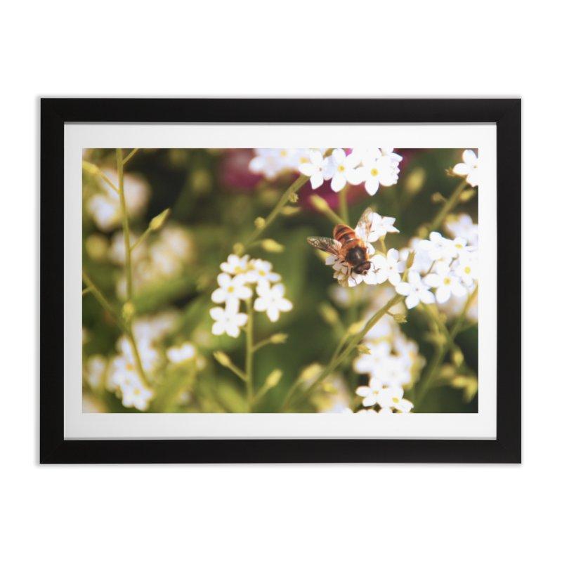 Busy Bee Home Framed Fine Art Print by Soulstone's Artist Shop