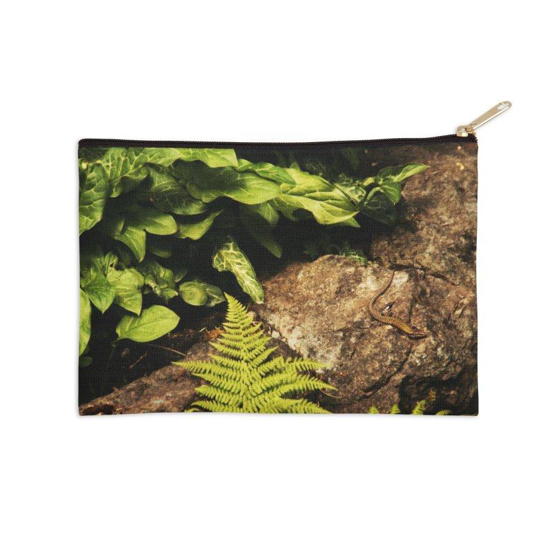 Lizard Accessories Zip Pouch by Soulstone's Artist Shop