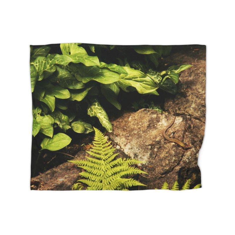 Lizard Home Blanket by Soulstone's Artist Shop