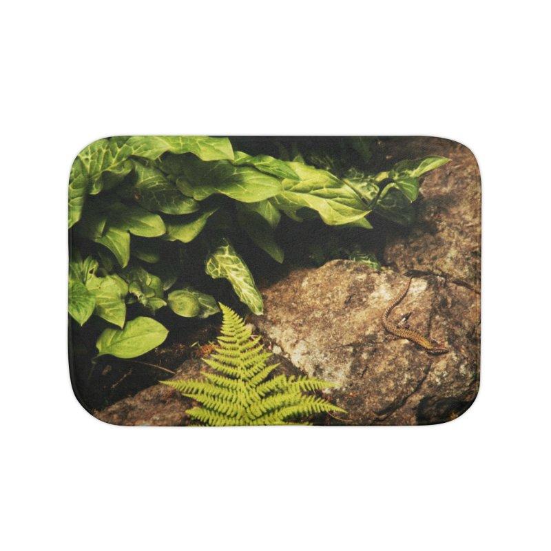 Lizard Home Bath Mat by Soulstone's Artist Shop